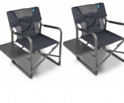 Kampa Forte 180 Heavy Duty Camping Chair (Twin Pack)